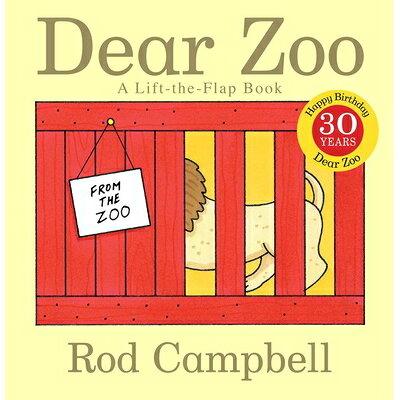 DEAR ZOO:A LIFT-THE-FLAP BOOK(BB) /LITTLE SIMON (USA)/ROD CAMPBELL