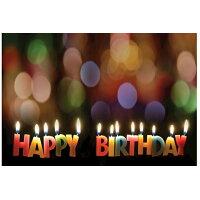 Happy Birthday Candles Postcard (Pkg of 25) /ABINGDON PR/Abingdon Press
