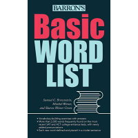 Basic Word List /BARRONS EDUCATION SERIES/Samuel C. Brownstein