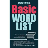 Basic Word List /BARRONS EDUC SERIES/Samuel C. Brownstein