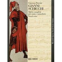 Gianni Schicchi: Opera Vocal Score /RICORDI/Giacomo Puccini