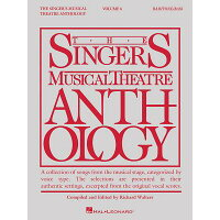 Singer's Musical Theatre Anthology - Volume 6: Baritone/Bass Book Only /HAL LEONARD PUB CO/Hal Leonard Corp