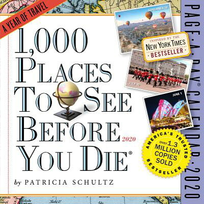 1,000 Places to See Before You Die Page-A-Day Calendar 2020 /WORKMAN PR/Patricia Schultz