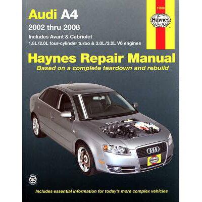 AUDI A4 02-08(P) /HAYNES PUBLISHING(UK)/ANON