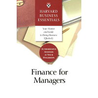 Finance for Managers /HARVARD BUSINESS/Harvard Business School Press