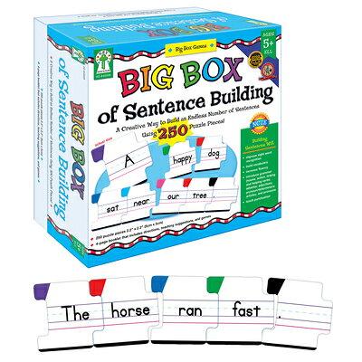 Big Box of Sentence Building /KEY EDUC/Key Education Publishing