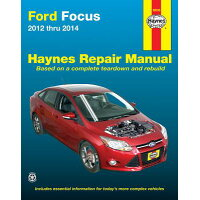 Ford Focus 2012 Thru 2014: Does Not Include Information Specific to Focus Electric Models /HAYNES PUBN/Editors of Haynes Manuals