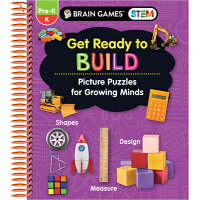 Brain Games Stem - Get Ready to Build: Picture Puzzles for Growing Minds (Workbook) /PUBN INTL/Publications International Ltd