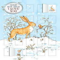 Guess How Much I Love You Advent Calendar (with Stickers) /FLAME TREE PUB/Flame Tree Studios