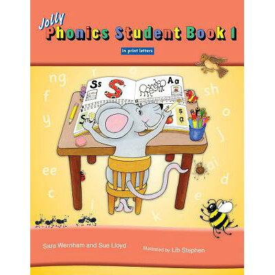 Jolly Phonics Student, Book 1 /JOLLY LEARNING LTD/Sara Wernham
