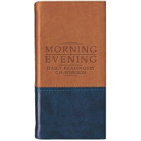 Morning and Evening - Matt Tan/Blue: Daily Readings /CHRISTIAN FOCUS PUBN/Charles Haddon Spurgeon