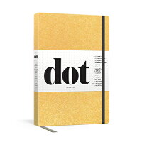 Dot Journal (Gold): A Dotted, Blank Journal for List-Making, Journaling, Goal-Setting: 256 Pages wit /POTTER CLARKSON N/Potter Gift