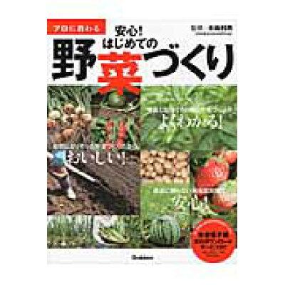 プロに教わる安心!はじめての野菜づくり   /学研プラス/木嶋利男