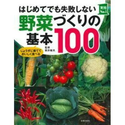 はじめてでも失敗しない野菜づくりの基本100   /主婦の友社/新井敏夫
