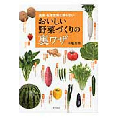 おいしい野菜づくりの裏ワザ 農薬・化学肥料に頼らない  /家の光協会/木嶋利男
