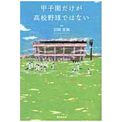 甲子園だけが高校野球ではない   /廣済堂出版/岩崎夏海