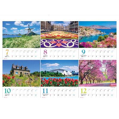 世界一美しい花風景を散歩するカレンダー  2020 /写真工房/写真工房カレンダー