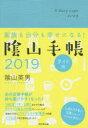 陰山手帳ライト版(ターコイズブルー) 家族も自分も幸せになる! 2019 /ダイヤモンド社/陰山英男