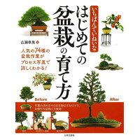 いちばんていねいなはじめての盆栽の育て方 人気の74種の盆栽作業がプロセス写真で詳しくわかる  /日本文芸社/広瀬幸男