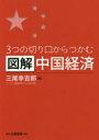 図解中国経済 3つの切り口からつかむ  /白桃書房/三尾幸吉郎