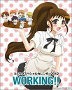 WORKING!!コミックスペシャルカレンダ-  2012 /スクウェア・エニックス/高津カリノ