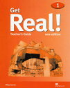 Get real!Teacher's guide Teacher's guide Book1 改訂新版/マクミランランゲ-ジハウス