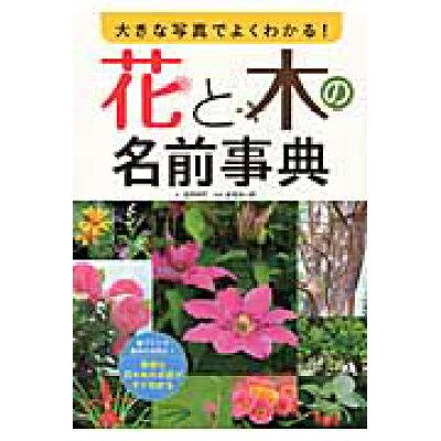 大きな写真でよくわかる!花と木の名前事典   /西東社/金田初代