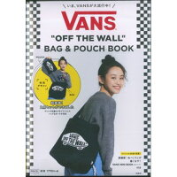 "VANS ""OFF THE WALL"" BAG&POUCH BOOK   /宝島社"
