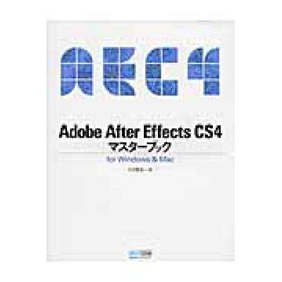 Adobe After Effects CS4マスタ-ブック For Windows & Mac  /マイナビ出版/大河原浩一