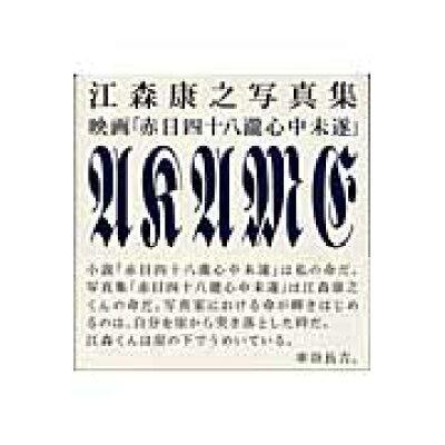 映画「赤目四十八瀧心中未遂」 江森康之写真集  /リトル・モア/江森康之