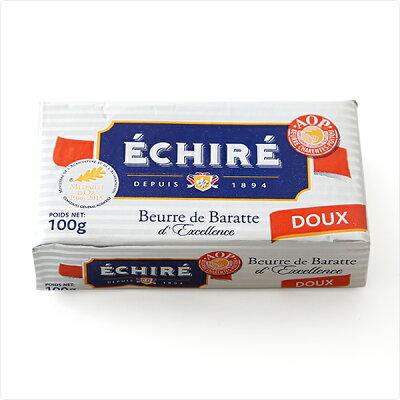フランス AOP 伝統 エシレ 無塩 発酵 バター 100g