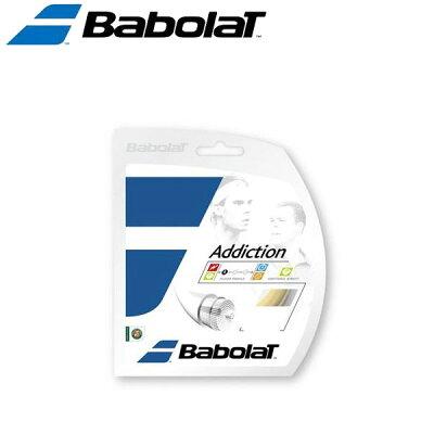 babolat  addiction アディクション   ロール ba243115 硬式テニスストリング