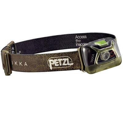 PETZL  ペツル ティカ/Green E93AABヘッドライト ランタン ライト LEDタイプ