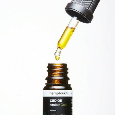 ヘンプタッチ CBDオイル アンバー ゴールド 15%濃度 CBD含有1500mg 10ml