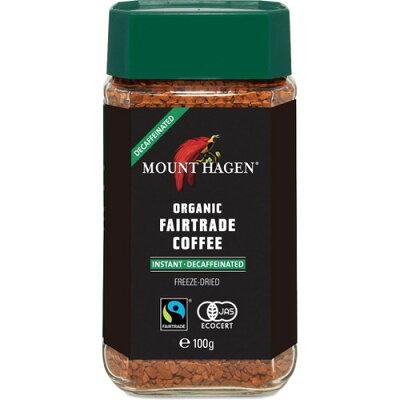 マウントハーゲン オーガニック フェアトレード カフェインレスインスタントコーヒー(100g)