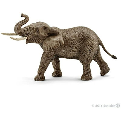 Schleich シュライヒ 動物フィギュア アフリカ象(オス) 14762