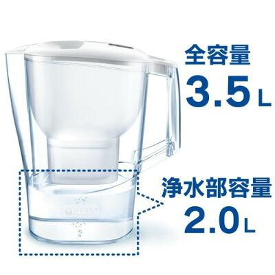 ブリタ アルーナ XL マクストラプラスカートリッジ1個付き 日本正規品(1セット)