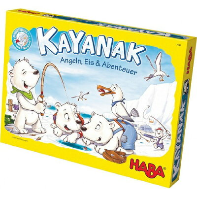 カヤナック ハバ社 楽しい釣り   木のおもちゃ HABA(ドイツ)
