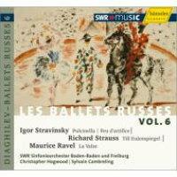 Stravinsky ストラビンスキー / ストラヴィンスキー:プルチネッラ全曲 ホグウッド指揮 、R.シュトラウス:ティル、ラヴェル:ラ・ヴァルス カンブルラン指揮 、他 南西ドイツ放送響 輸入盤