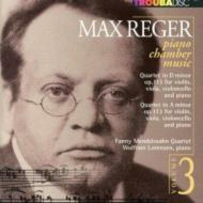 Reger レーガー / Piano Quartet, 1, 2, : Lorenzen P Fanny Mendelssohn Q 輸入盤