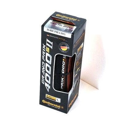 Continental Grand Prix 4000S2 700×23C(ETROT:23-622) ブラック×ブラック クリンチャータイヤ