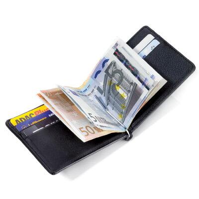 トロイカ ICパスケース付カードケース&マネークリップウォレット ミッドナイト MYC29/LE