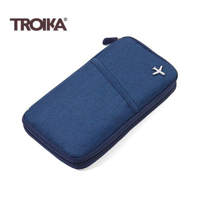 TROIKA トロイカ トラベルケース セーフフライト ダークブルー