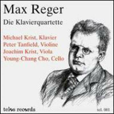 Reger レーガー / Piano Quartets.1, 2: M.krist, Tanfield, J.krist, Cho 輸入盤