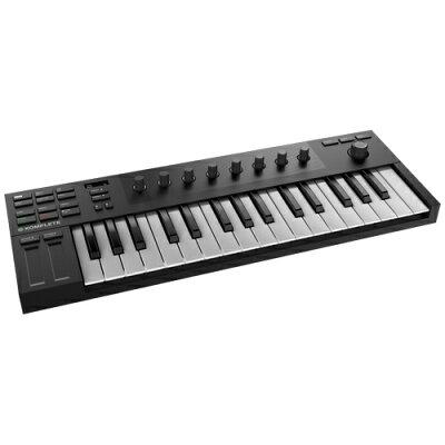 ネイティブインストゥルメンツ 32鍵マイクロサイズ MIDIキーボードコントローラー KOMPLETE-KONTROL-M32