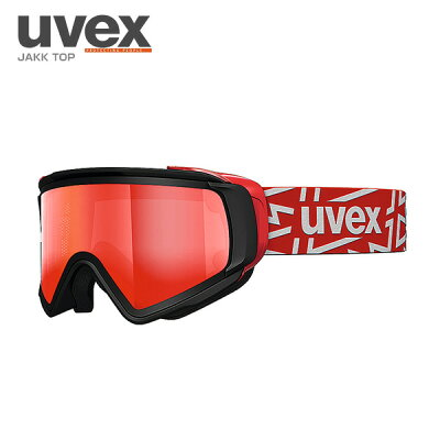ウベックス ウベックス UVEX JAKK TOP 550430 2026 Mウインターゴーグル 2026/LMRED POLA