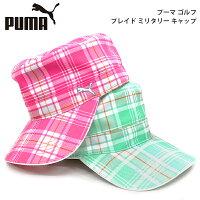 2013 プーマゴルフ日本 プレイド ミリタリーキャップ866269ピンク(02)