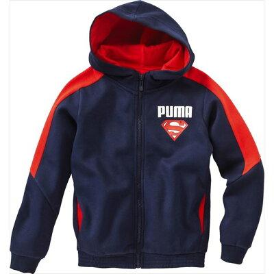 PUMA プーマ SUPERMAN フーデッド スウェット ジャケット 92 Peacoat