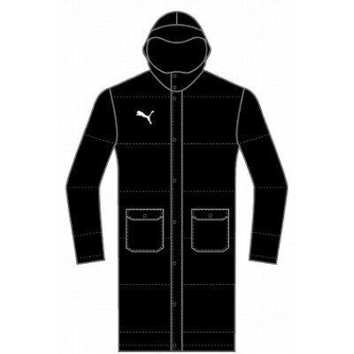 PUMA プーマ TT ESS PRO Long Down Coat JP M Puma Black