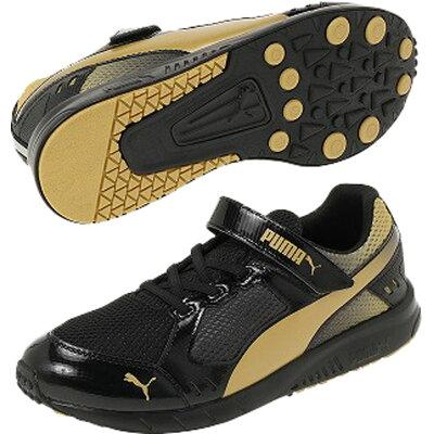 PUMA プーマ プーマスピードモンスター V3 17 Puma Black-Puma Team Gold